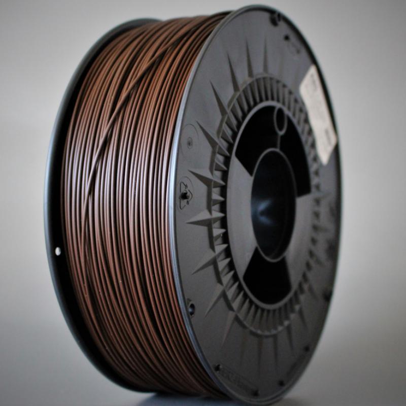 3D nyomtatószál - ABS - HERZ - barna, 1.75mm, 1.0kg