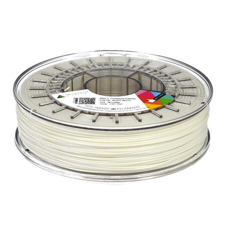 3D nyomtatószál - ABS - SMARTFIL - elefántcsont fehér, 1.75mm, 0.75kg