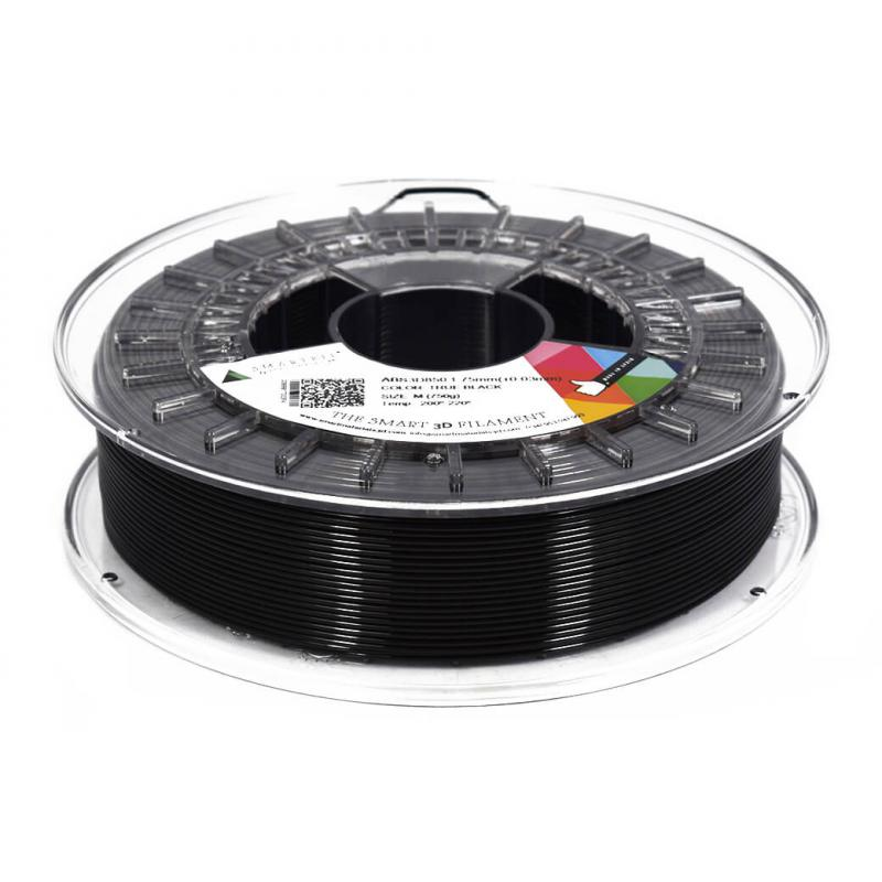 3D nyomtatószál - ABS - SMARTFIL - fekete, 1.75mm, 0.75kg