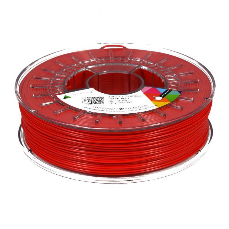 3D nyomtatószál - ABS - SMARTFIL - rubinvörös, 1.75mm, 0.75kg