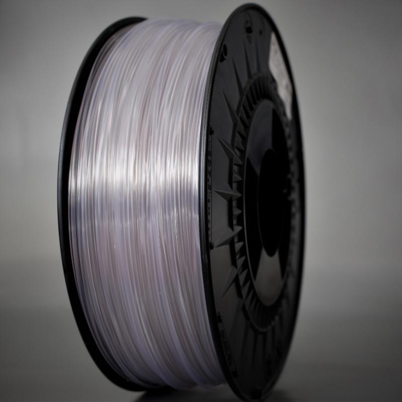 3D nyomtatószál - PLA - HERZ - áttetsző, 1.75mm, 1.0kg