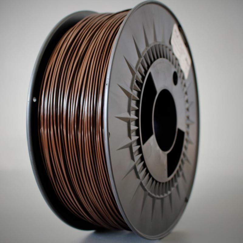 3D nyomtatószál - PLA - HERZ - barna, 1.75mm, 1.0kg