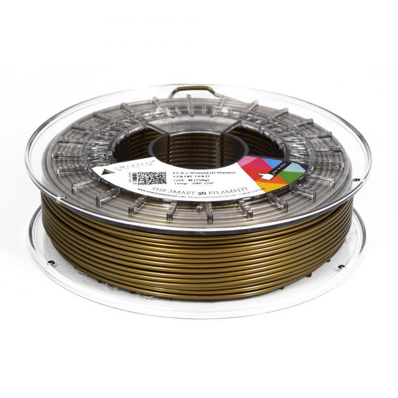 3D nyomtatószál - PLA - SMARTFIL - arany, 1.75mm, 0.75kg