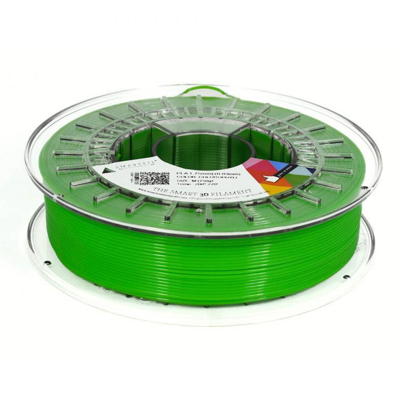 3D nyomtatószál - PLA - SMARTFIL - klorofil, 1.75mm, 0.75kg