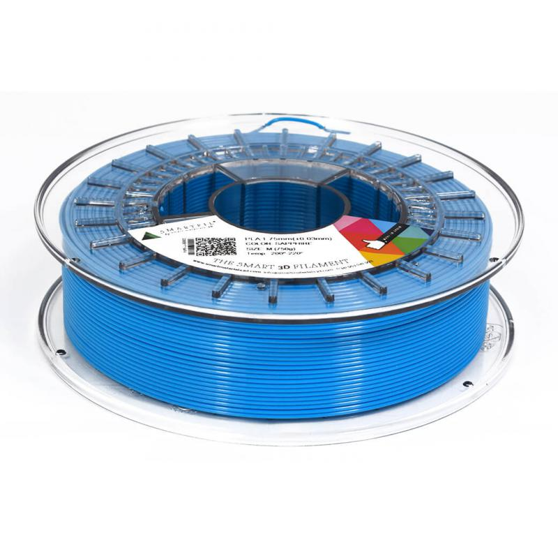 3D nyomtatószál - PLA - SMARTFIL - zafír, 1.75mm, 0.75kg