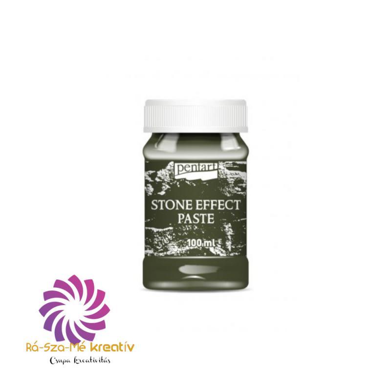 Kőhatású Paszta 100 ml - Zöld gránit