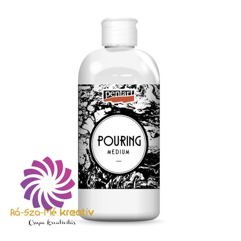 Pouring medium (akrilfesték higító)
