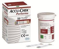 Accuchek Performa vércukormérő tesztcsík 50 db
