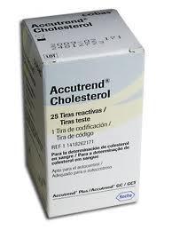 Accutrend koleszterin tesztcsík 25db