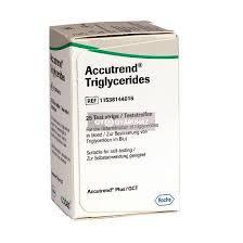 Accutrend triglicerid tesztcsík 25 db