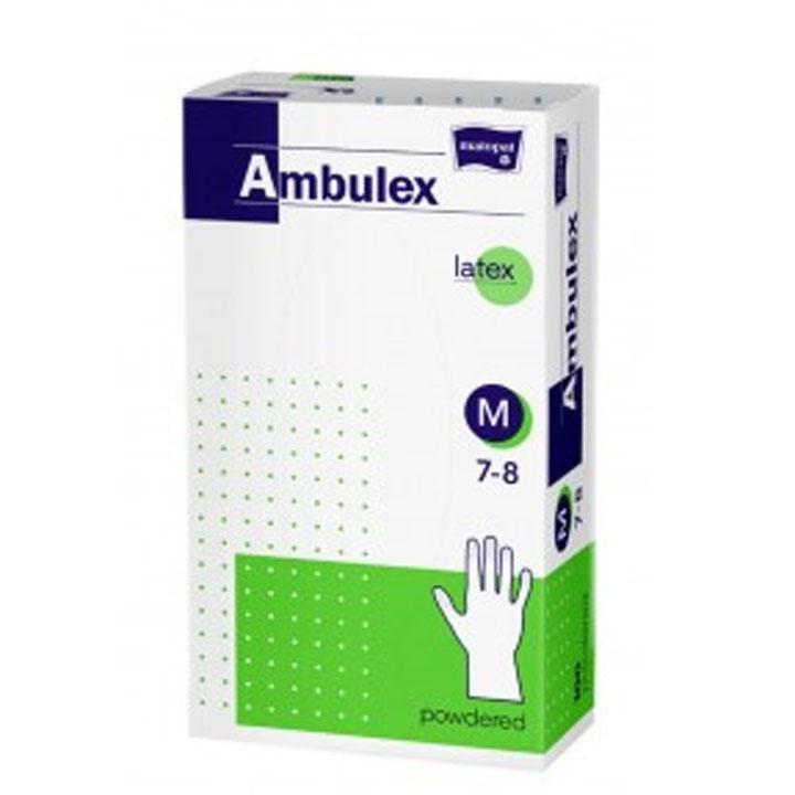 Ambulex gumikesztyű 100db