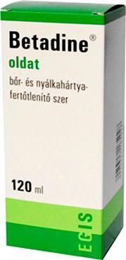 Betadine bőrfertőtlenítő 120 ml