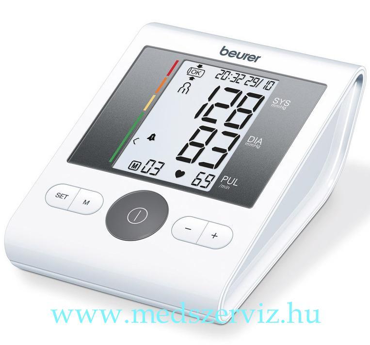 Beurer BM 28 Felkaros vérnyomásmérő + adapter