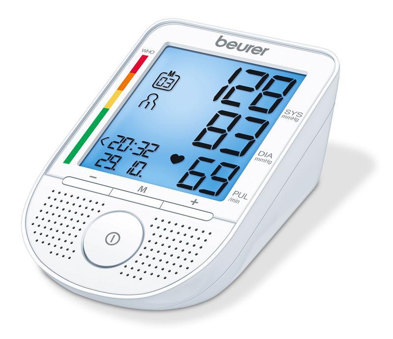 Beurer BM 49 beszélő vérnyomásmérő