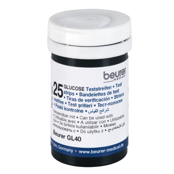 Beurer GL 40 vércukor tesztcsík 50 db