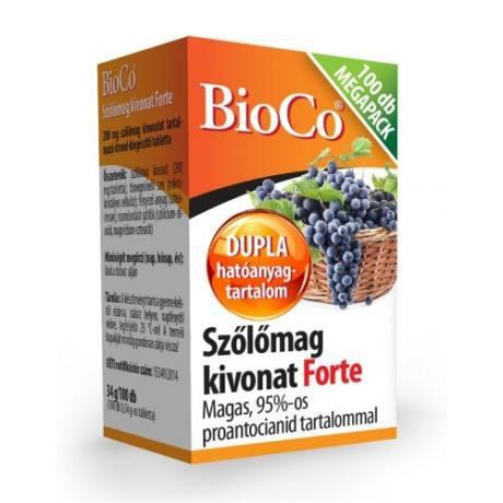 Bioco szőlőmag tabletta 60 db