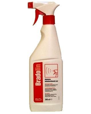 Bradolin felületfertőtlenítő spray 500ml