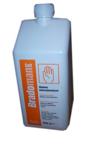 Bradoman soft kézfertőtlenítő 1 l