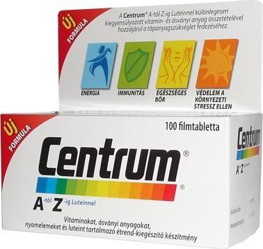 Centrum multivitamin A-Z-ig Luteinnel 60 db