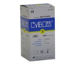CYBOW 3 vizelet tesztcsík 100 db