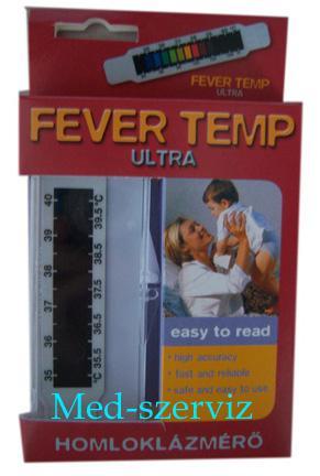 Fever Temp homloklázmérő