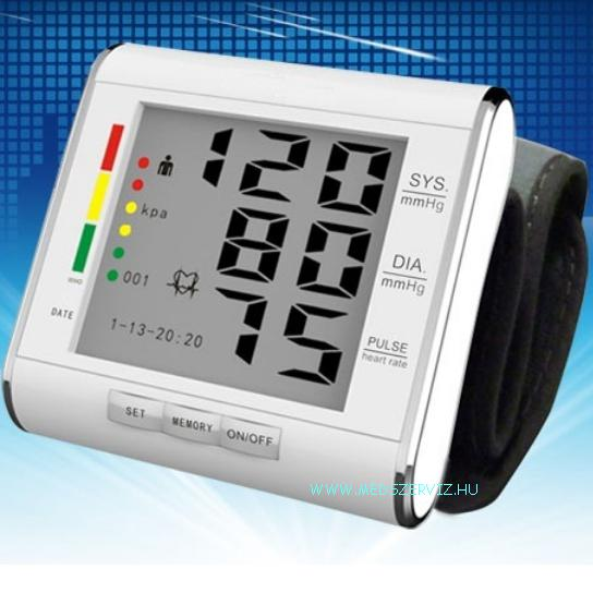 Csuklós vérnyomásmérő - VÉRNYOMÁSMÉRŐ