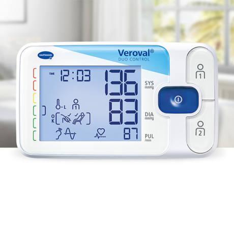 Hartmann Tensoval duo control vérnyomásmérő