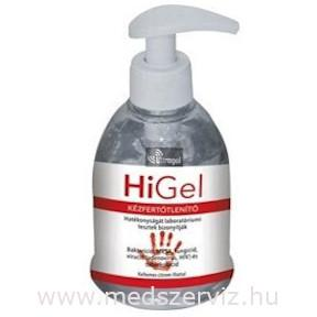 HiGel kézfertőtlenítő gél 300ml
