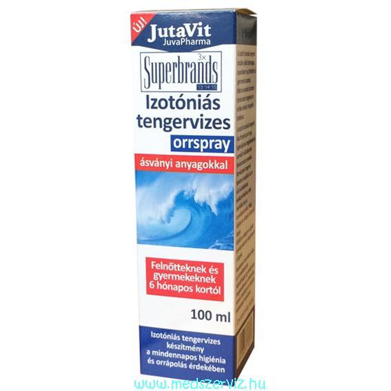 JutaVit Izotóniás Tengervizes orrspray 100ml