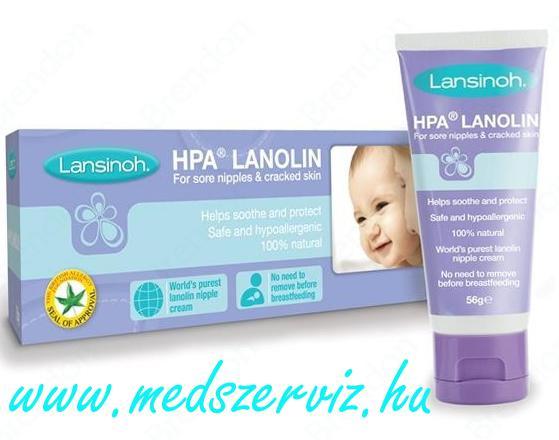 Lansinoh Bimbóvédő Krém HPA Lanolin
