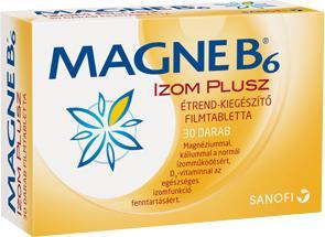 Magne B6 Izom Plusz filmtabletta 30db