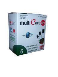 Multicare IN koleszterin tesztcsík 5db