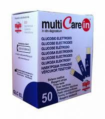 Multicare IN vércukor tesztcsík 50 db