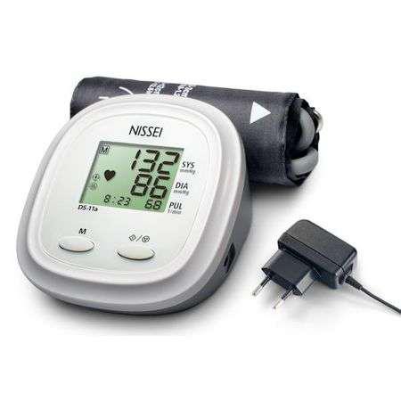 NISSEI DS-11A Automata felkaros vérnyomásmérő adapterrel