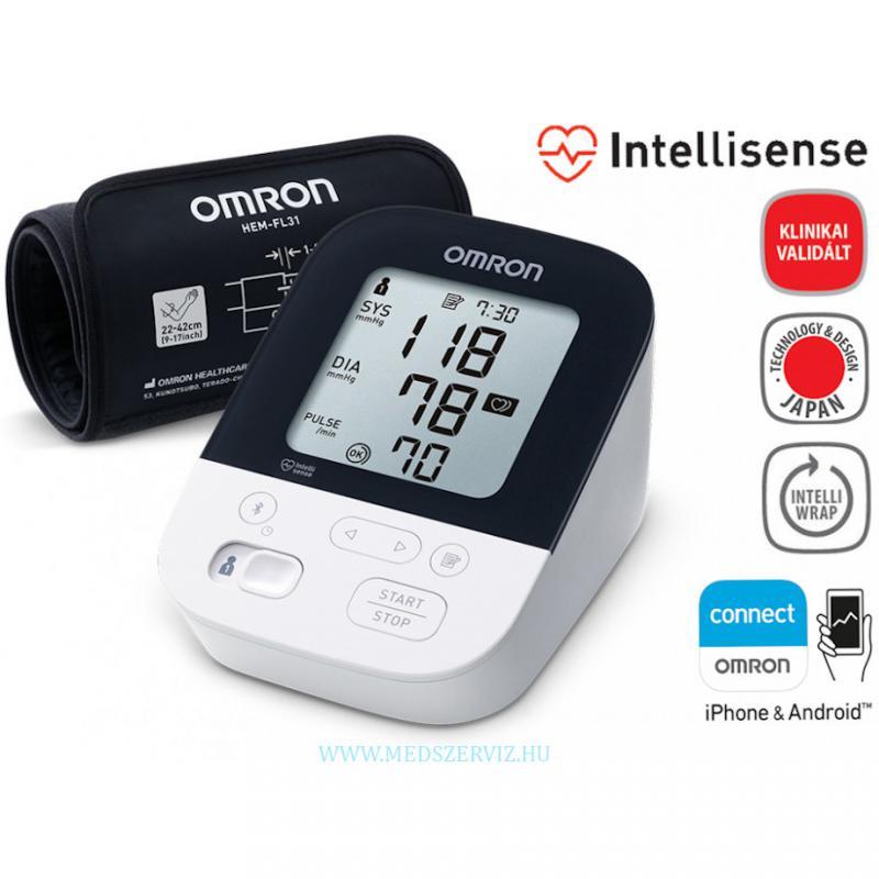 OMRON M4 Intelli IT bluetooth automata vérnyomásmérő