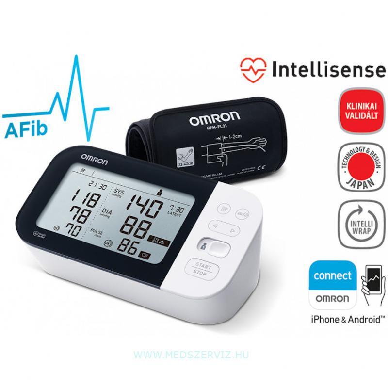 OMRON M7 Intelli IT bluetooth automata vérnyomásmérő