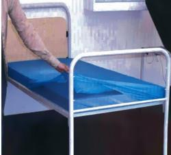 PE matracvédő fólia, lepedő gumírozott széllel 90x200