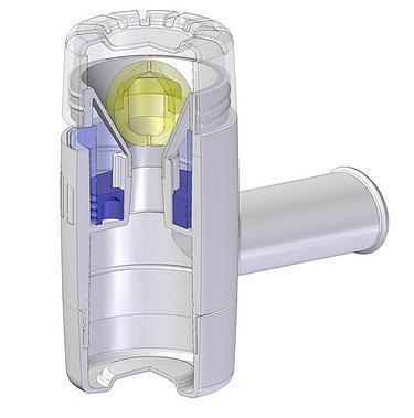 Pulmotrainer légzésjavító készülék