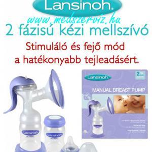 Lansinoh két fázisú kézi mellszívó