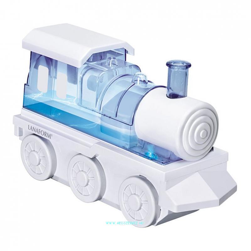 Vonat formájú ultrahangos párásító