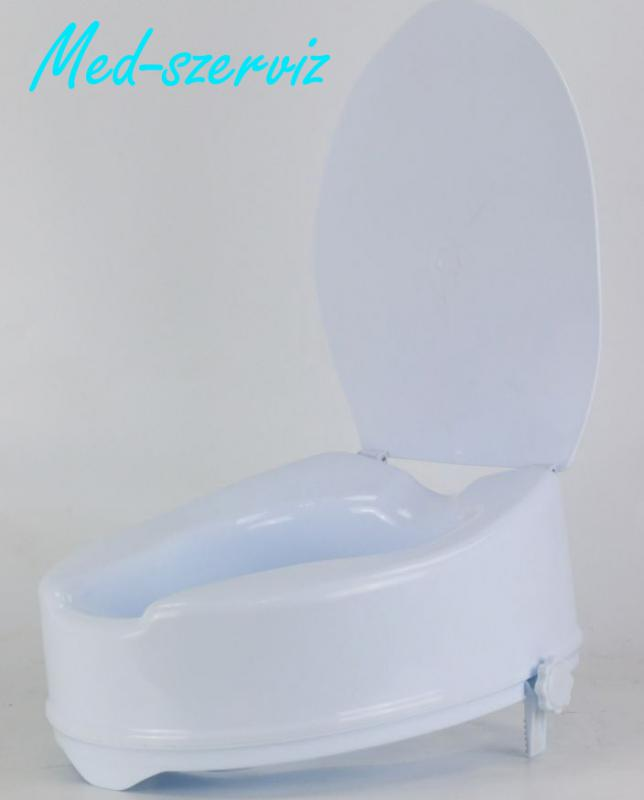 WC magasító fedéllel 10 cm