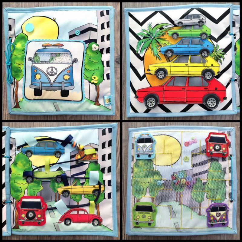 Autós buszos csendeskönyv 01