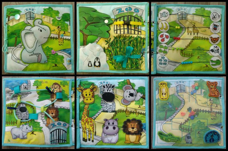 Elefántos Zoo könyvecske