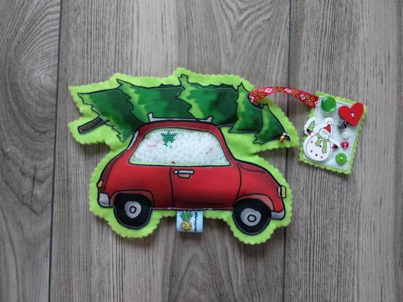 Karácsonyi autó spybag