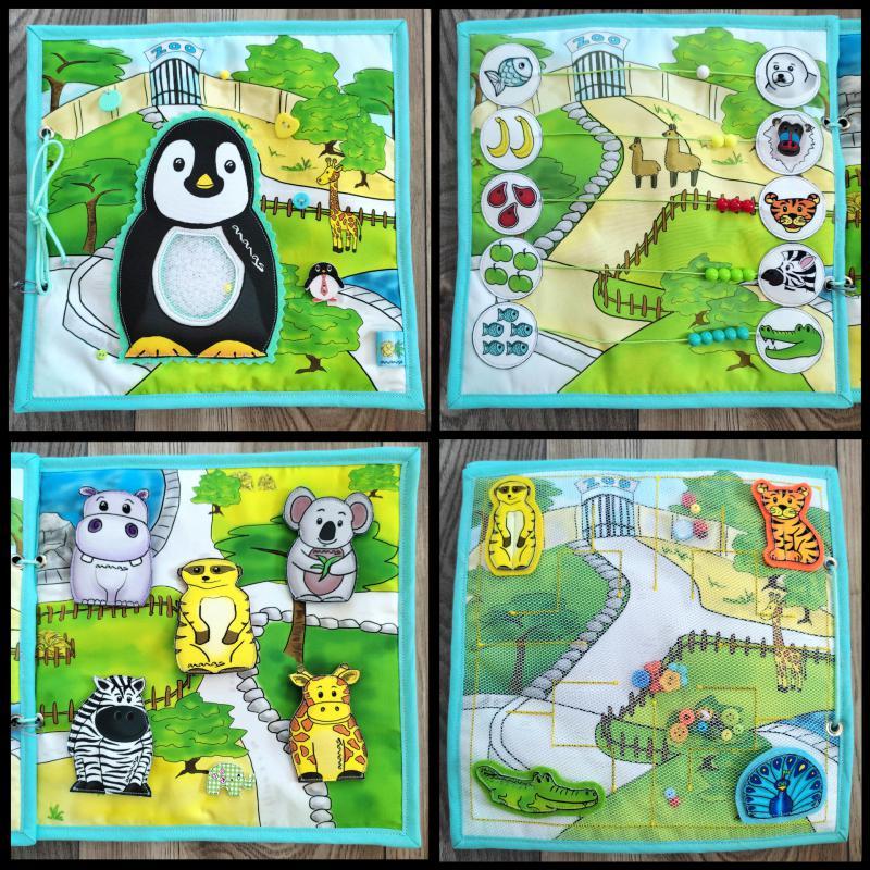 Pingvines Zoo könyvecske