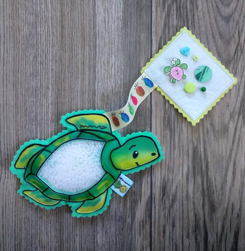 Teknős spybag