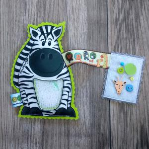 Zebra spybag