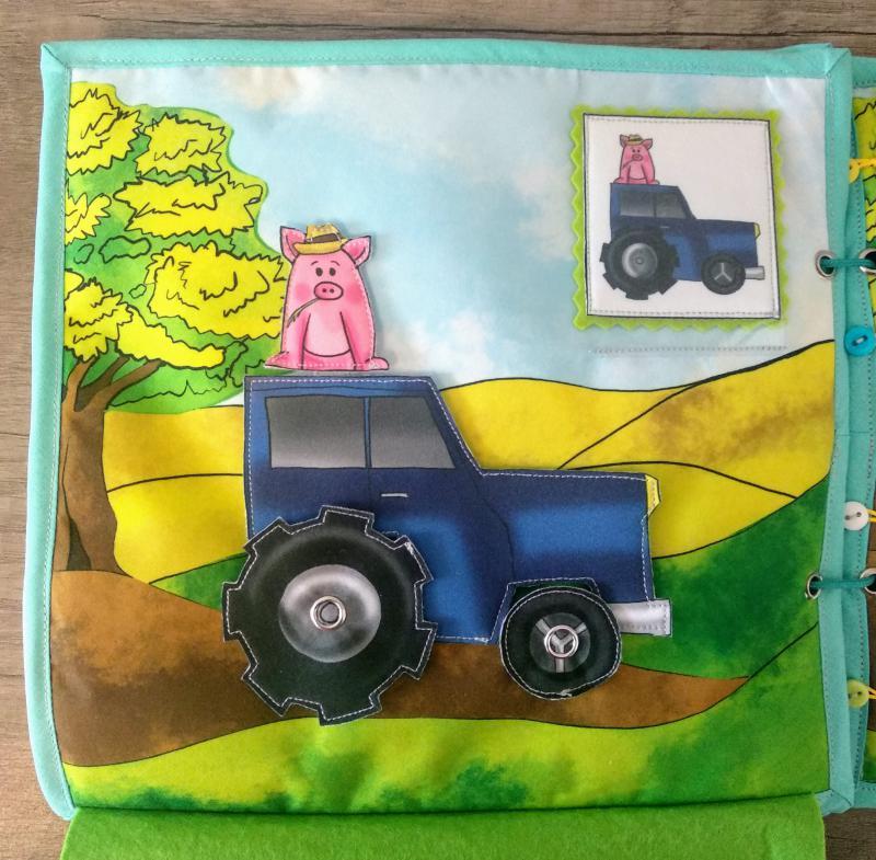 Traktoros oldal