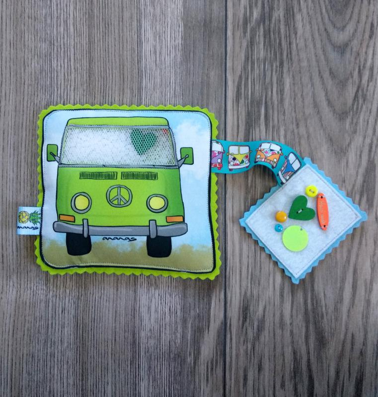 Zöld busz spybag