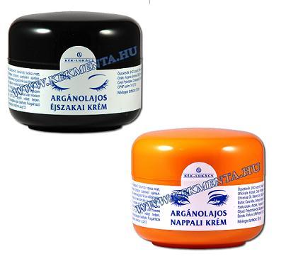 Argánolajos krém 50 ml, Kék Lukács nappali/ éjszakai krém